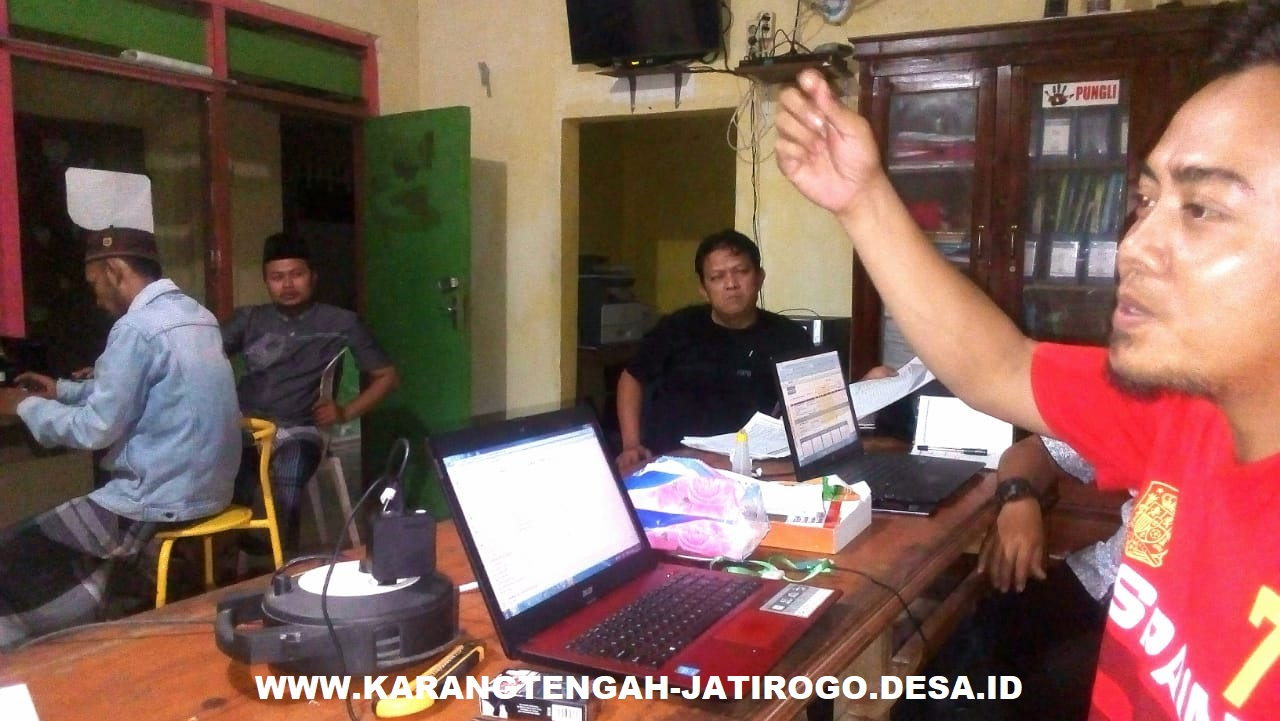 Tim Penyusun RPJM Desa Karangtengah Segera Merampungkan Penyusunan RPJMDes